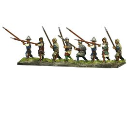 Mirliton C12 - Infantry with spear attacking