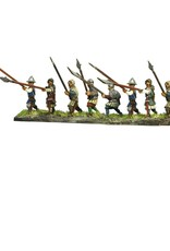Mirliton C13 - Infantry attacking with polearms