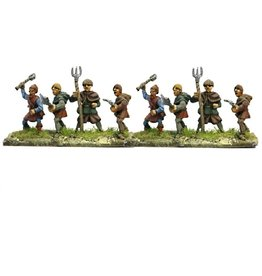 Mirliton C16 - Peasants with assorted weapons