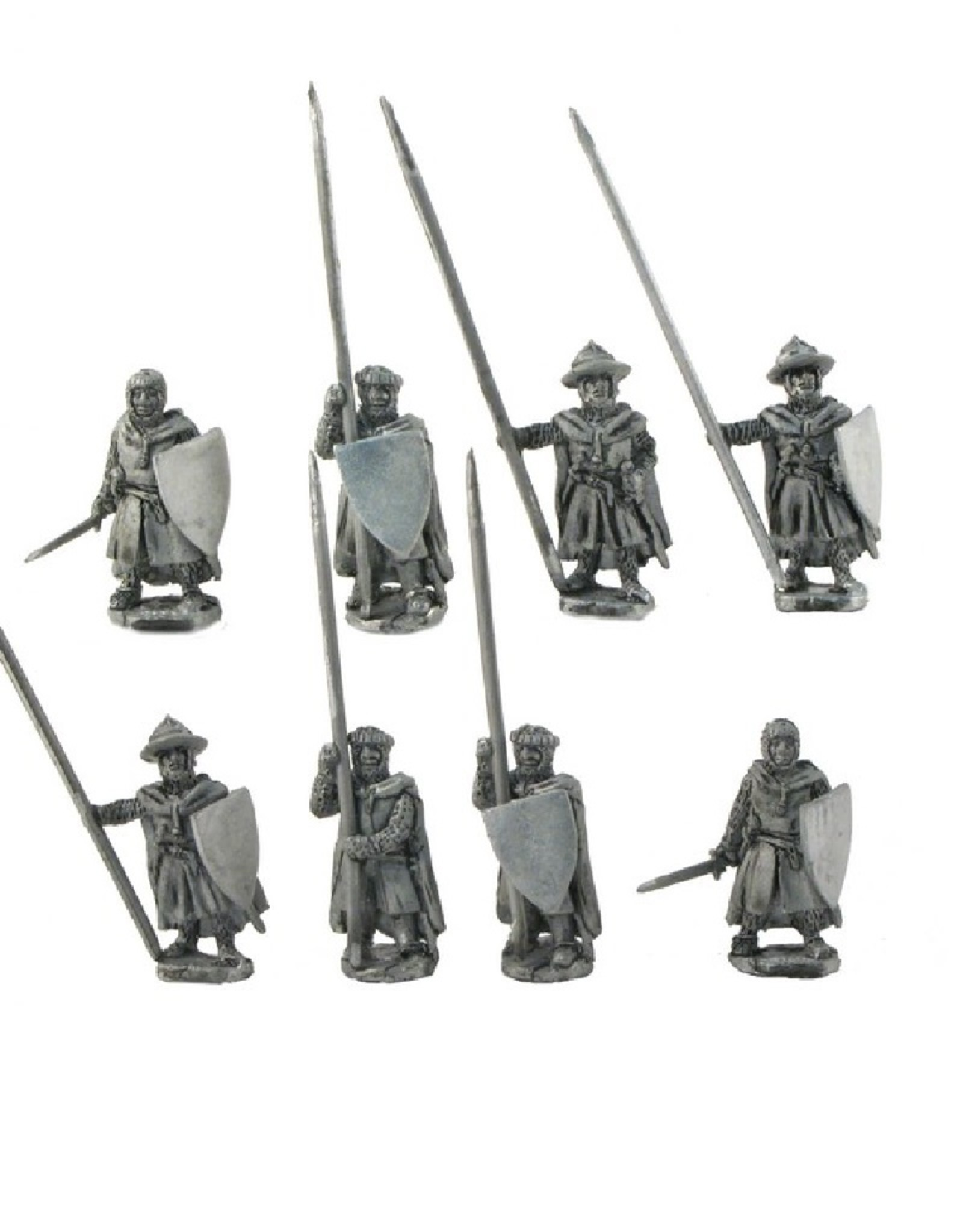 Mirliton C36 - Dismounted Teutonic Knights with cloak