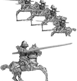 Mirliton CC25 - Knights in Italian armour & sallet charging
