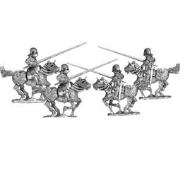 Mirliton CC26 - Knights in Maximilian armour charging