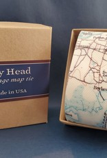 Vintage Map Neck Tie