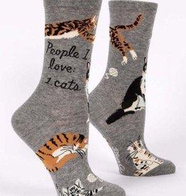 People I Love Cats socks