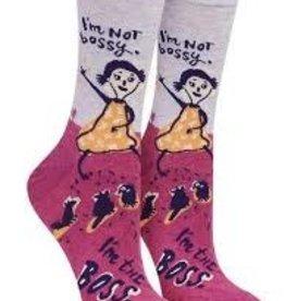 I'm not Bossy socks
