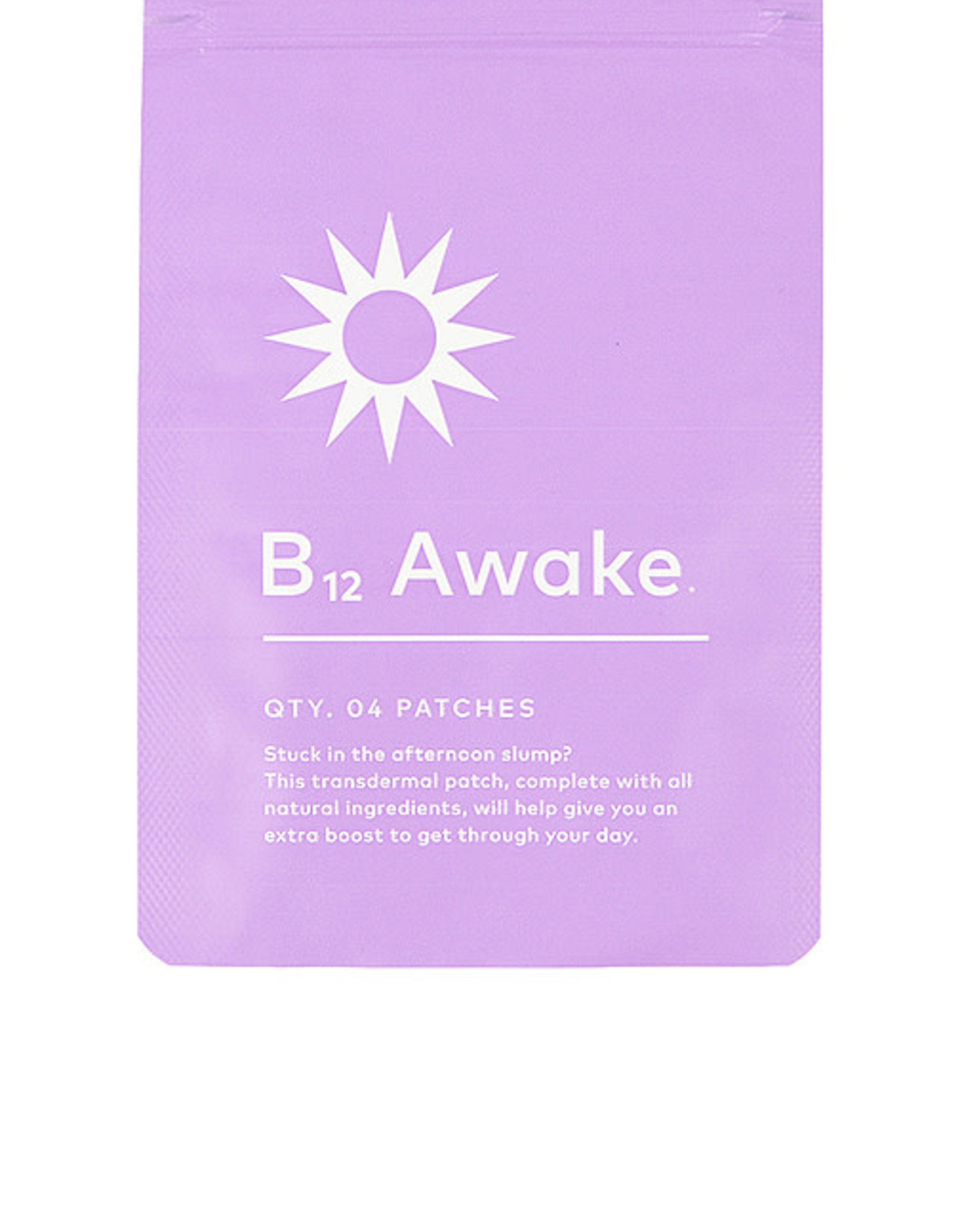 B12 Awake Transdermal Patch
