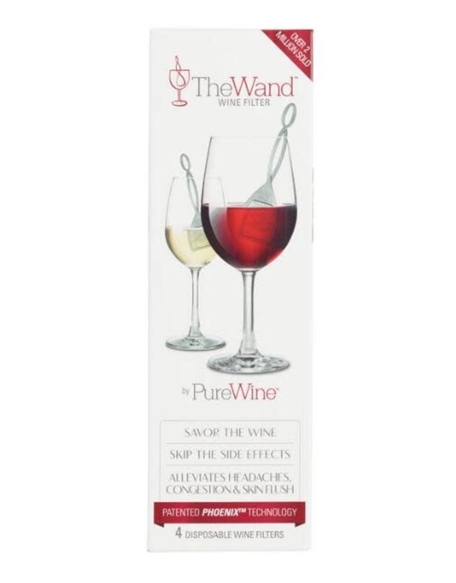The Wand- Rapid Action Wine Filter