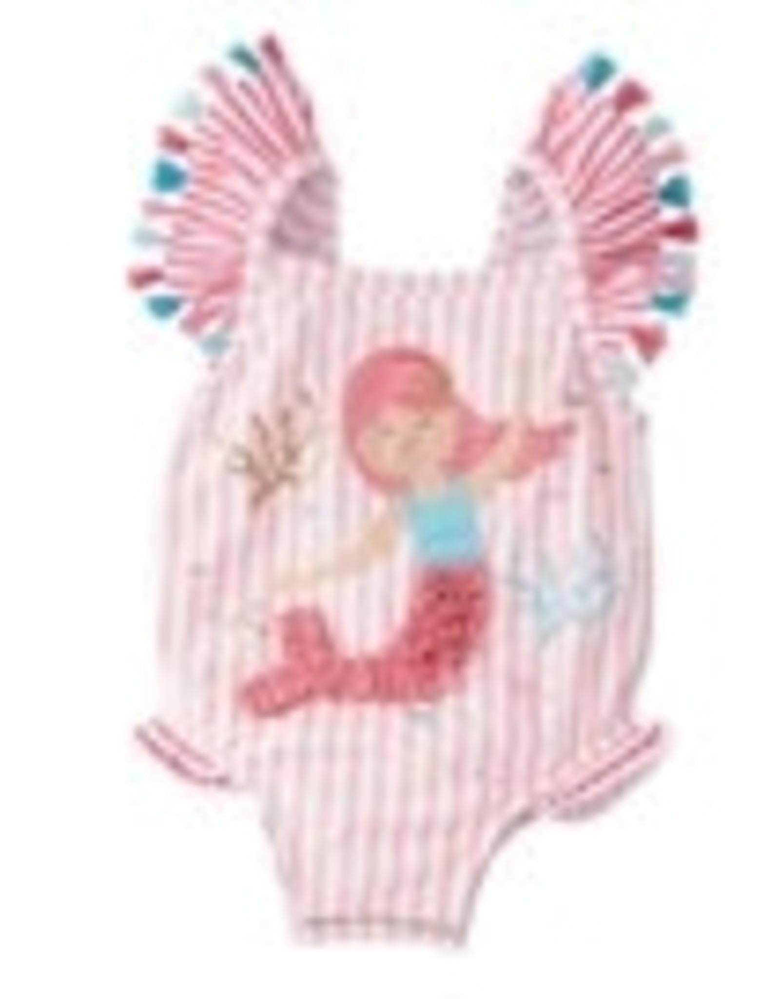 Mermaid One-piece swimsuit 3T