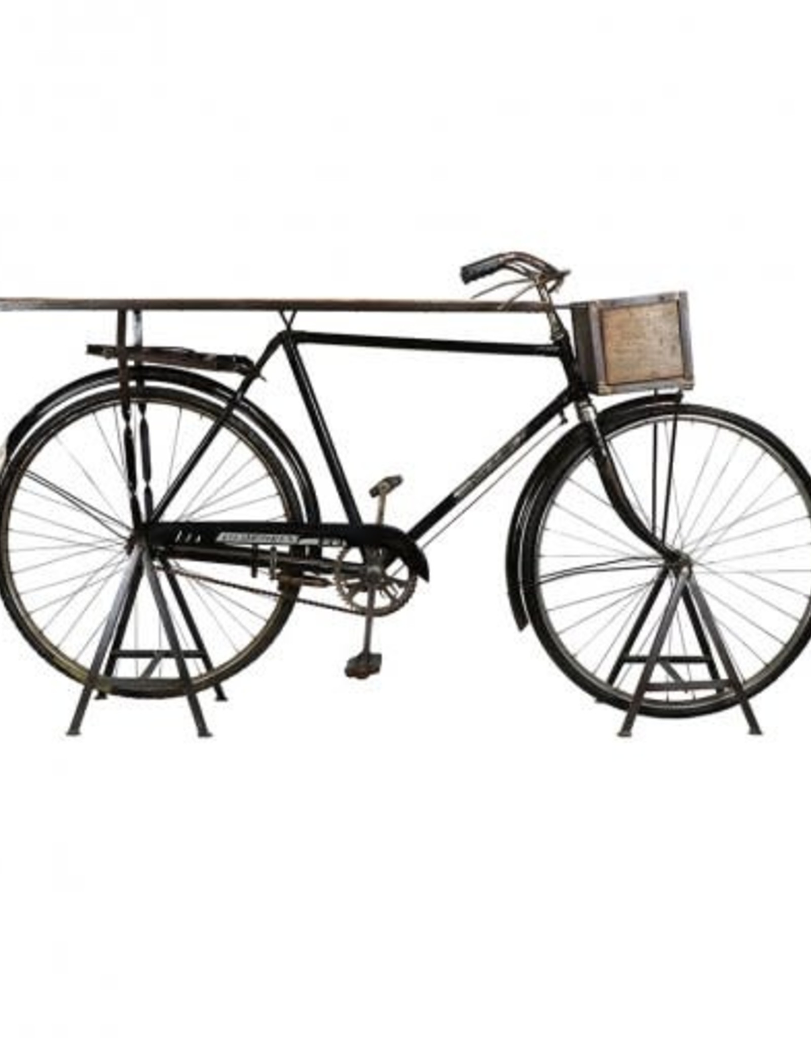 Blue Ocean Traders Vintage Bike Bar Table