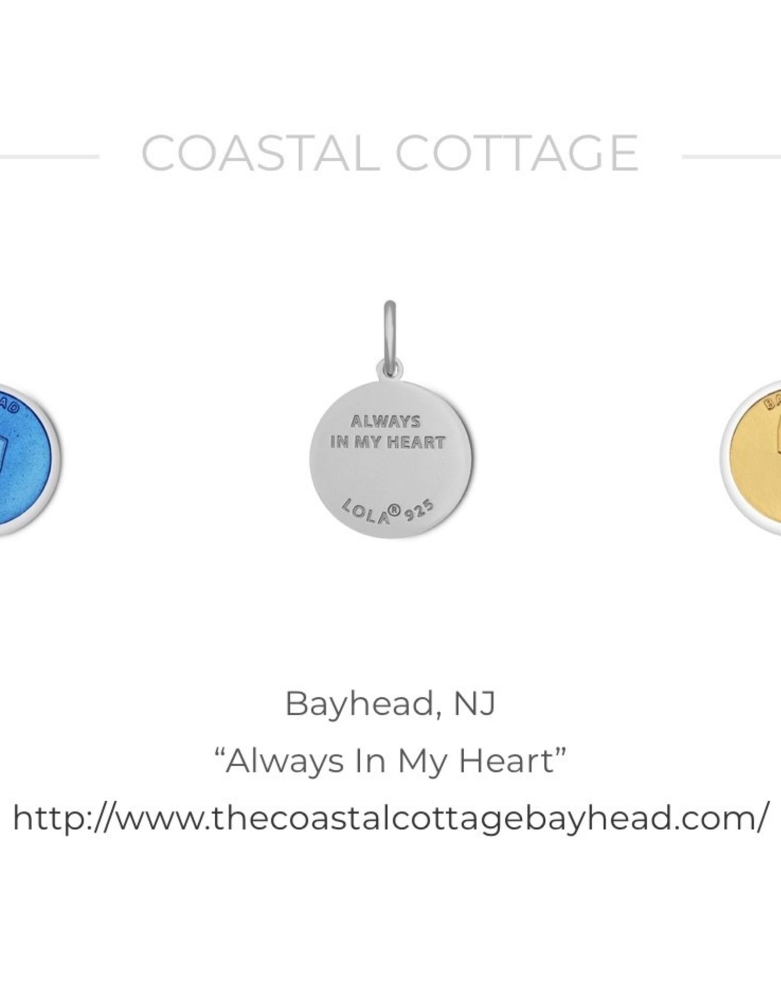 Bay Head LOLA sterling silver pendant-gold