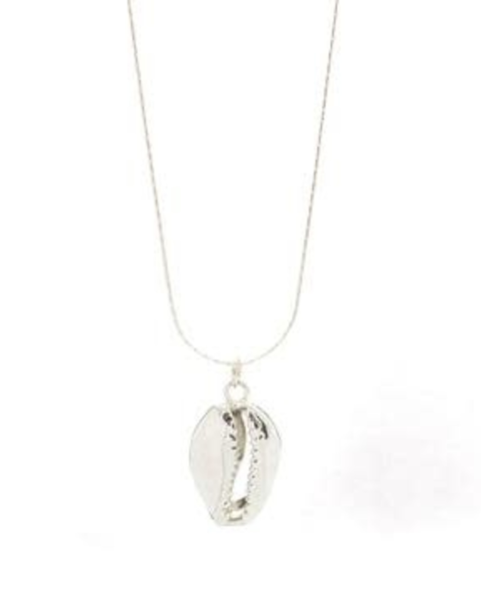 Salty Cali Puka - Salty Shells Necklace Sterling