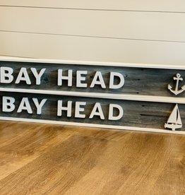 Coastal By Design Coastal Design Bay Head Sign