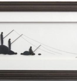 Demdaco Happiness On the Line wall art 15x8