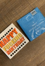 Happy ****Birthday napkins