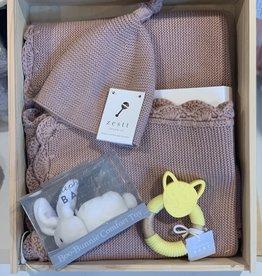 Zestt  baby gift set organic cotton heirloom