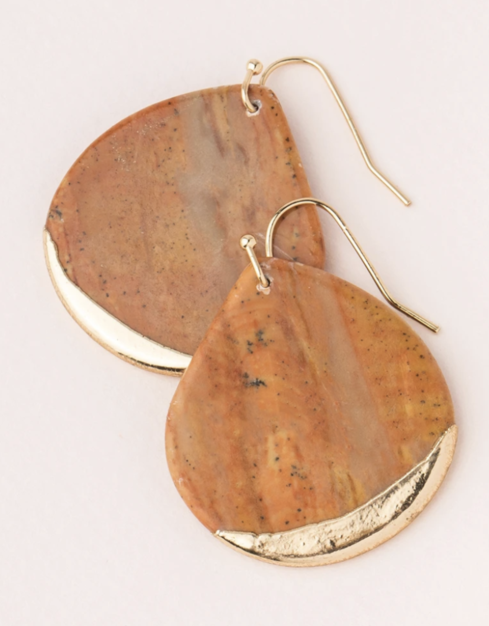 Scout Stone Dipped Teardrop Earring -