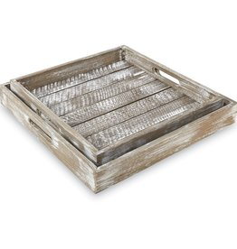 Barn Wood Tray Small