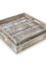 Barn Wood Tray Large