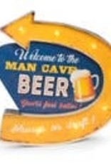 Bey-Berk Man Cave Wall Decor - Beer