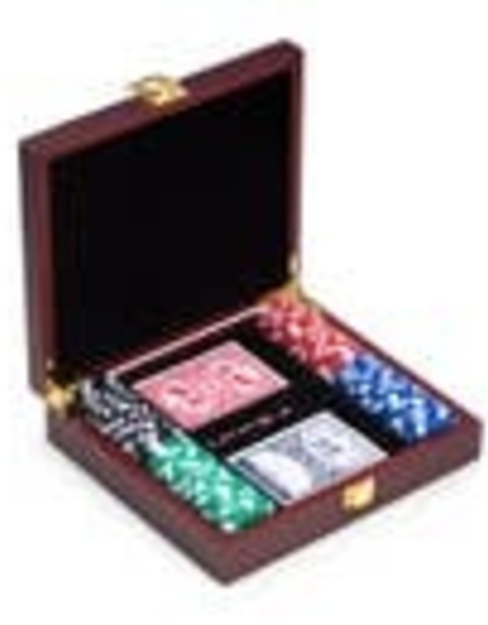 Bey-Berk Poker Set - Rosewood Case