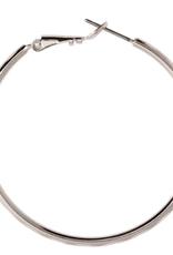 Rain Jewelry Silver Medium Hoop