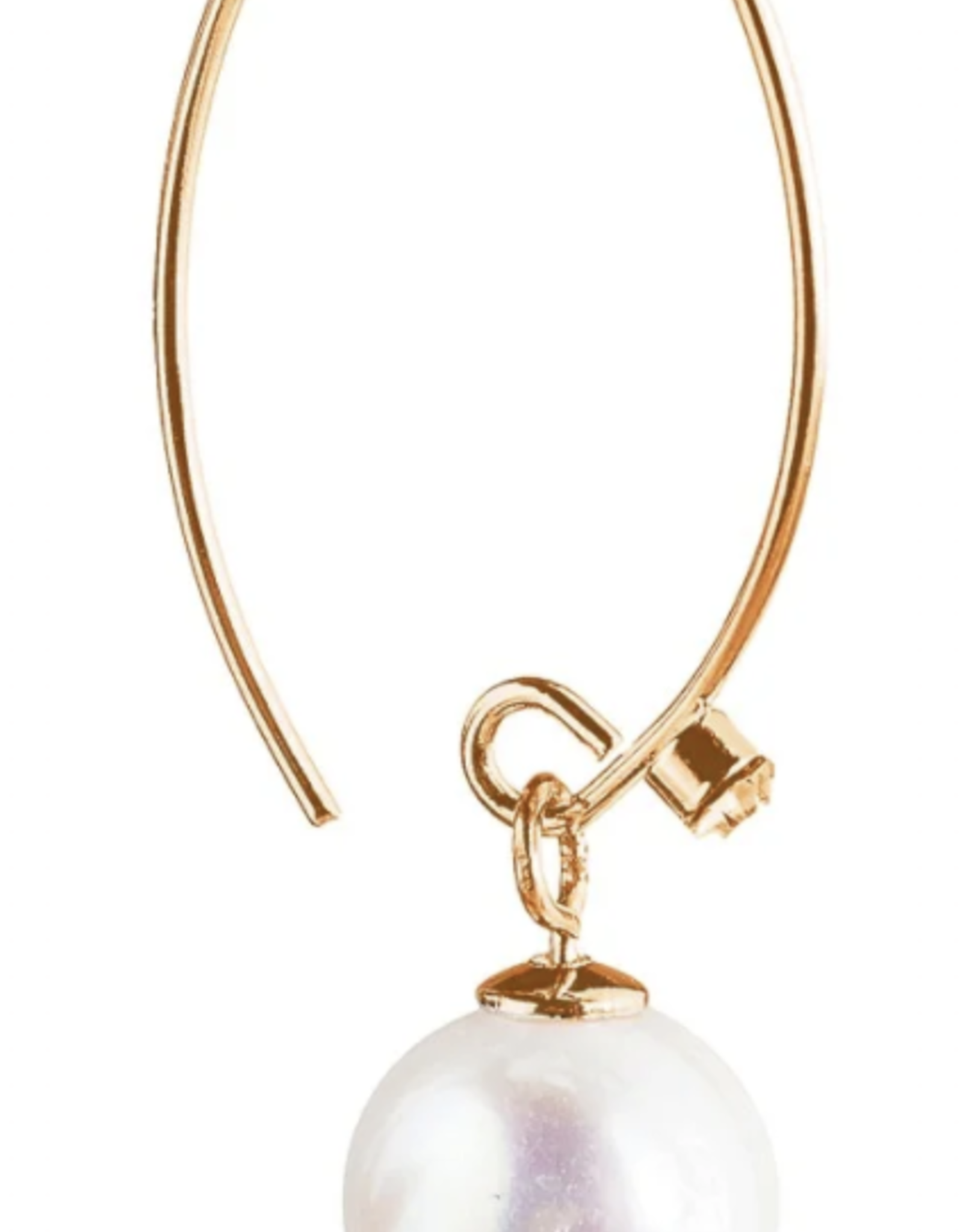 Rain Jewelry Fresh Water Pearl Drop Gold
