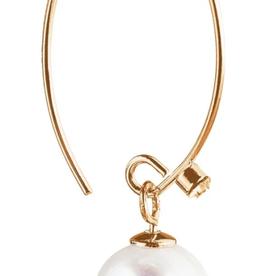 Rain Jewelry Fresh Water Pearl Drop Gold