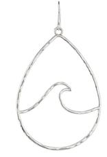 Rain Jewelry Wire Wave Earring