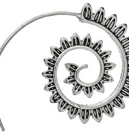 Rain Jewelry Feathery Curl Hoop earring