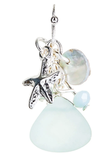 Rain Jewelry Glass Drop Sea Charm earring