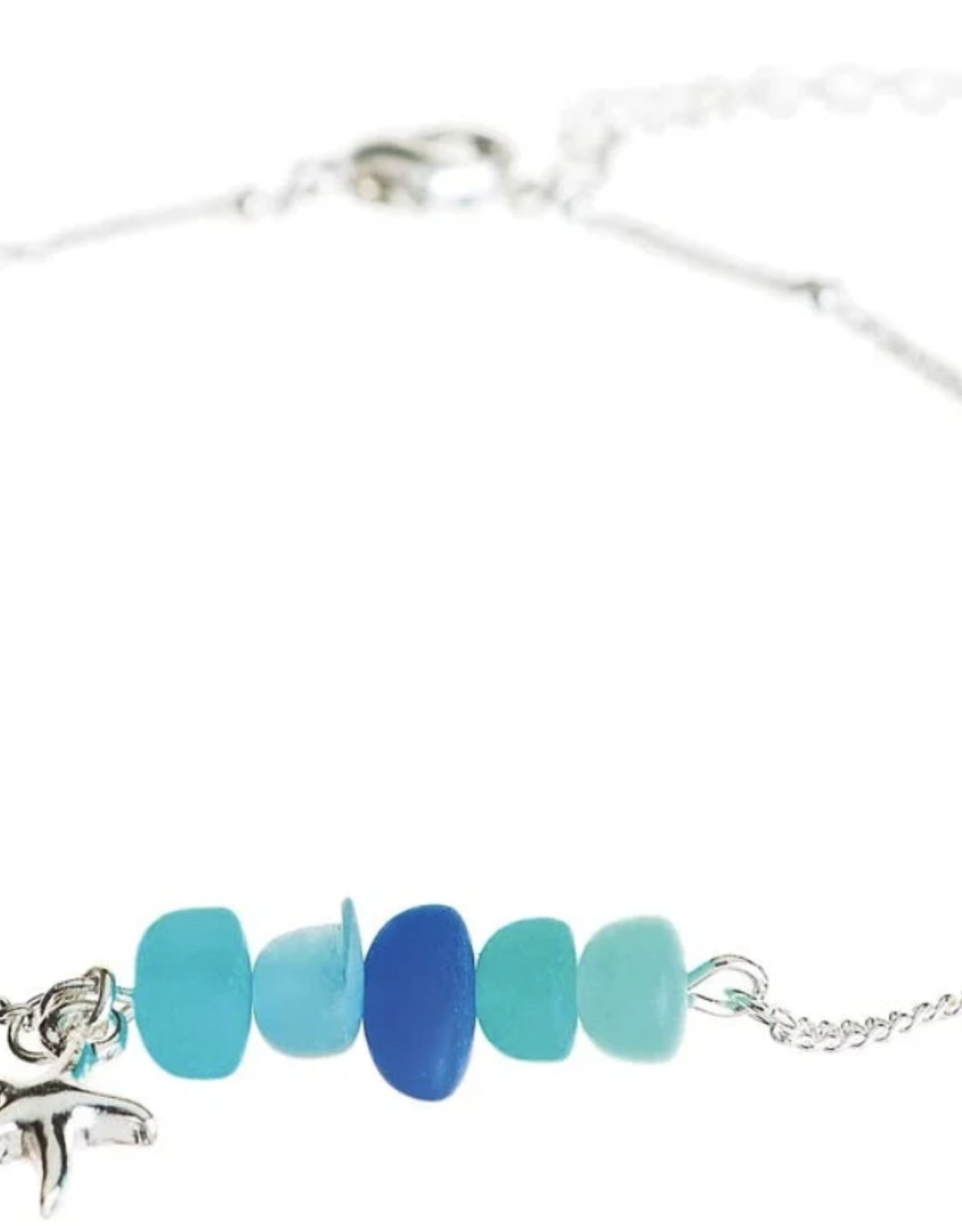 Rain Jewelry Blue Sea Gem Starfish Anklet