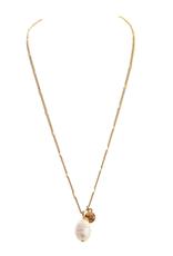 Rain Jewelry Single Fresh WaterPearl Drop gold necklace