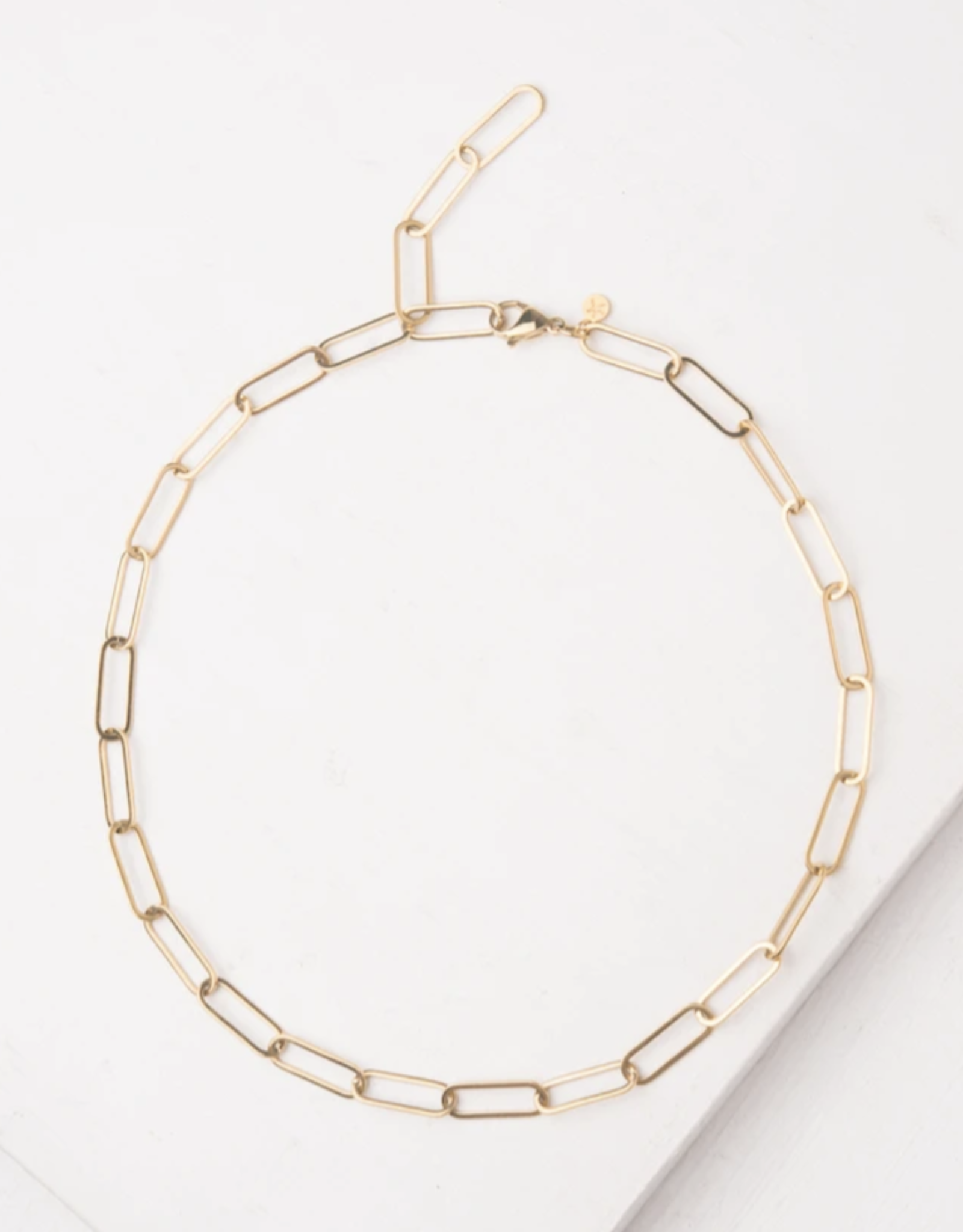 Georgie Gold Chain Necklace
