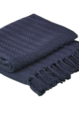 Cable Throw Navy