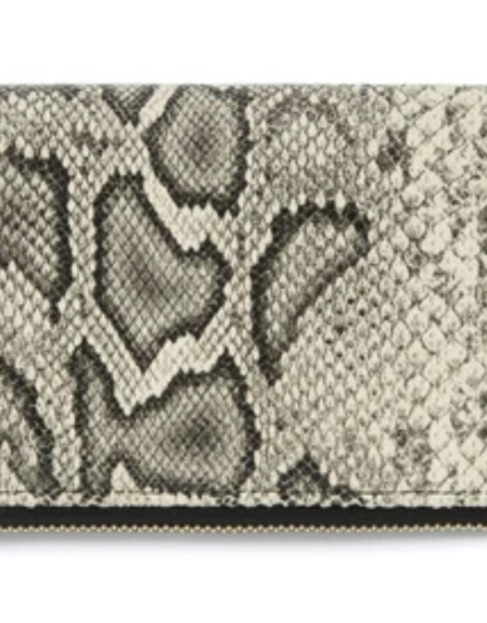 Cameron Zip Wallet - Grey