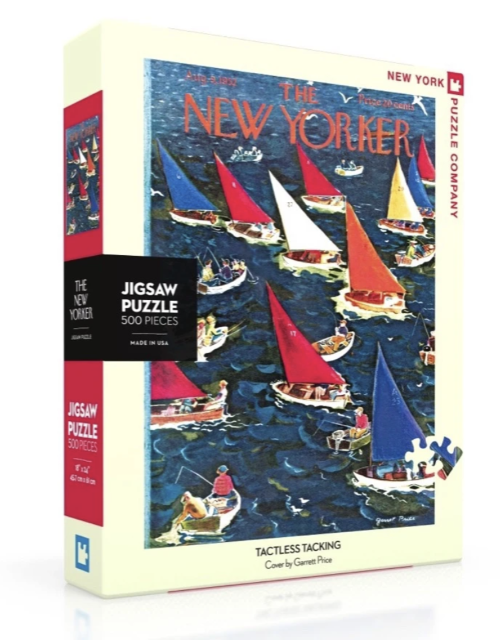 Tactless Tacking Puzzle - 500pc