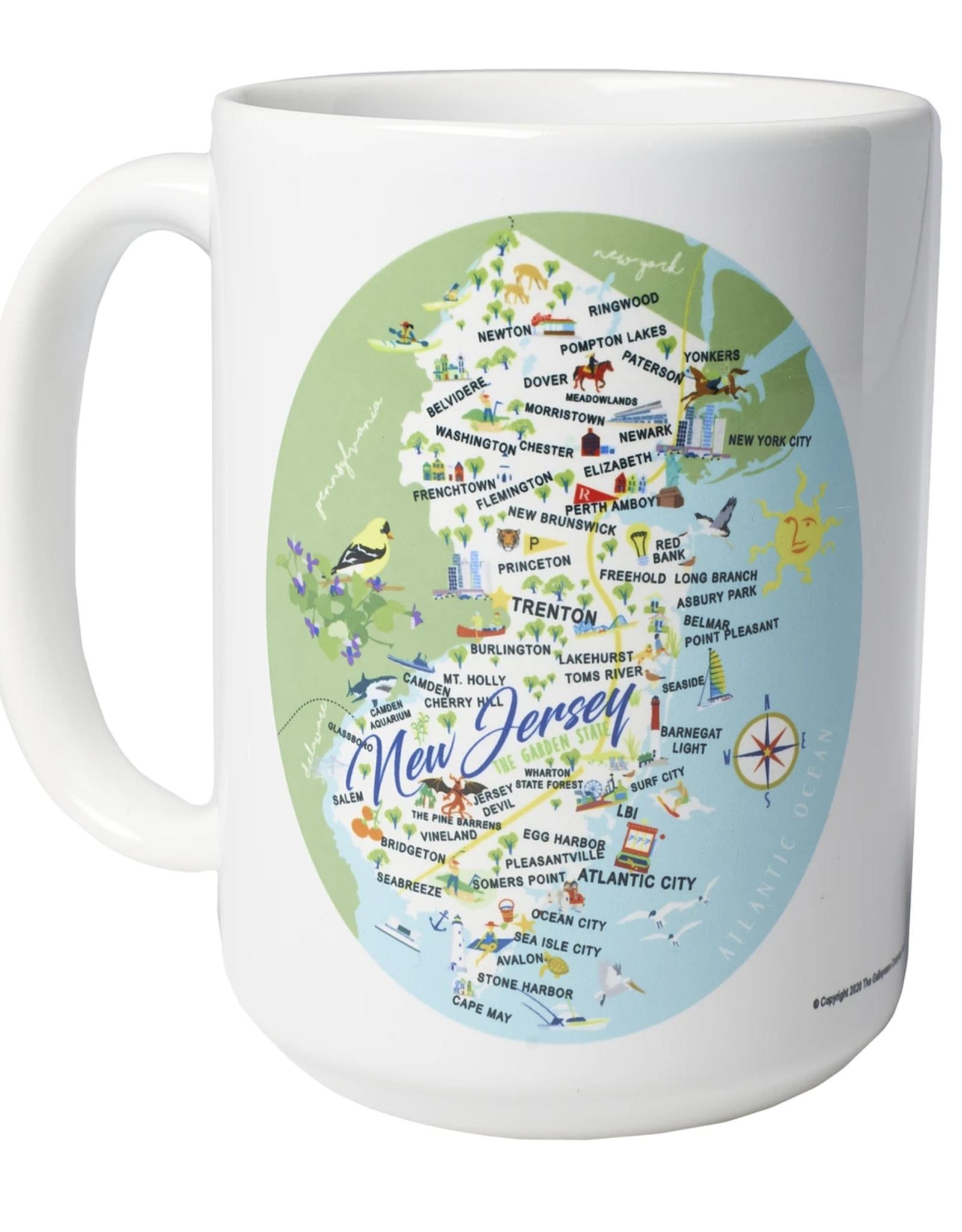 New Jersey - 15-oz. Ceramic Mug