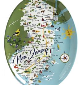 """New Jersey - 16"""" Platter"""