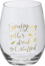 Friendsgiving wine glass gift box