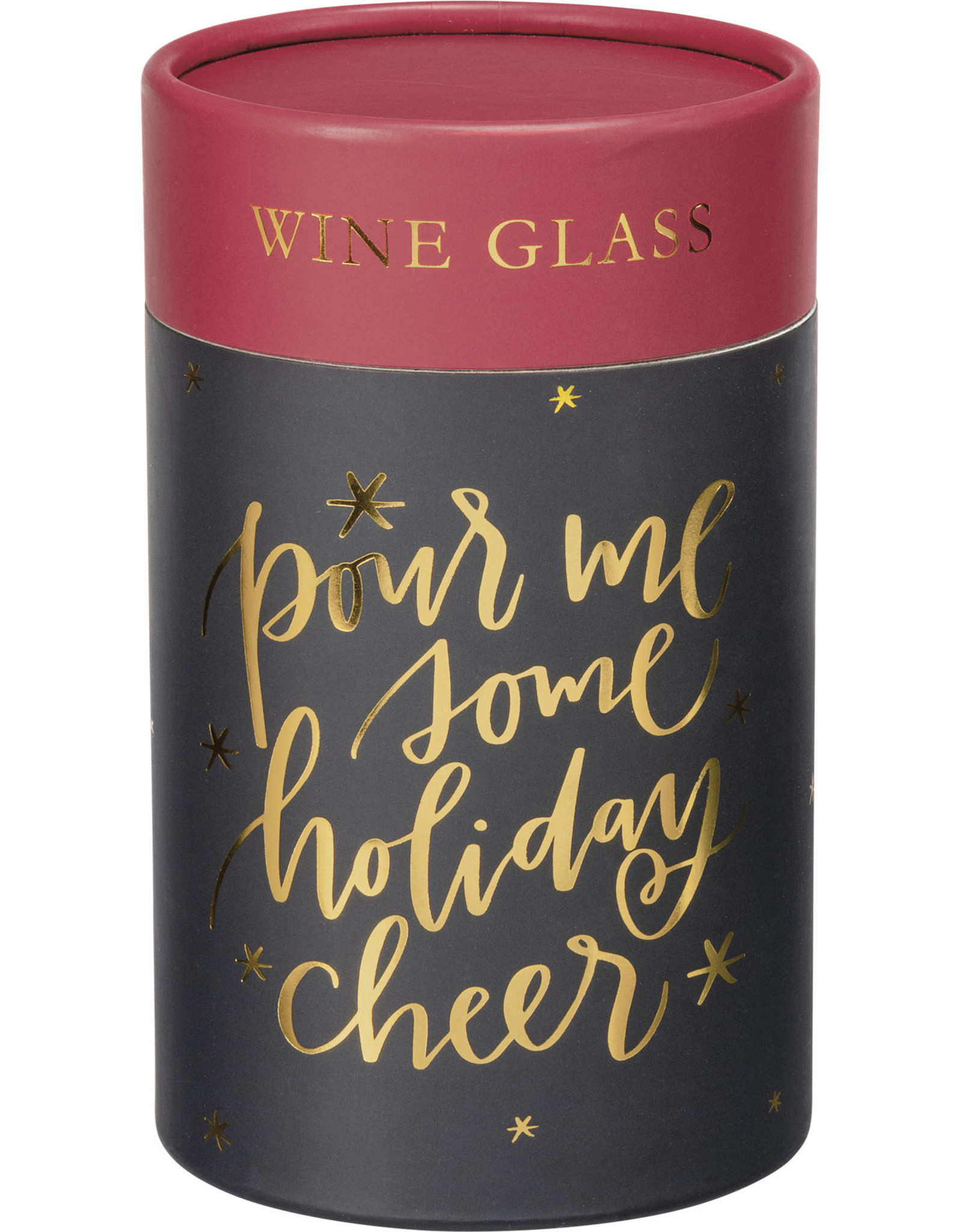 Pour me some holiday cheer wine gift box