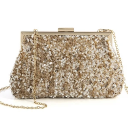 Amelie Clutch - Gold