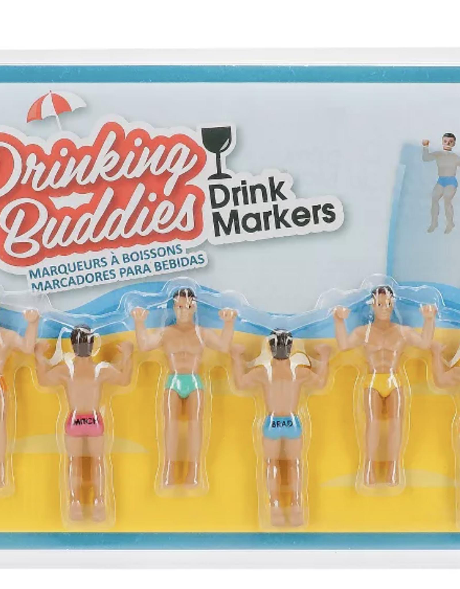 Vivona Brands Drinking Buddies Wine Charmers