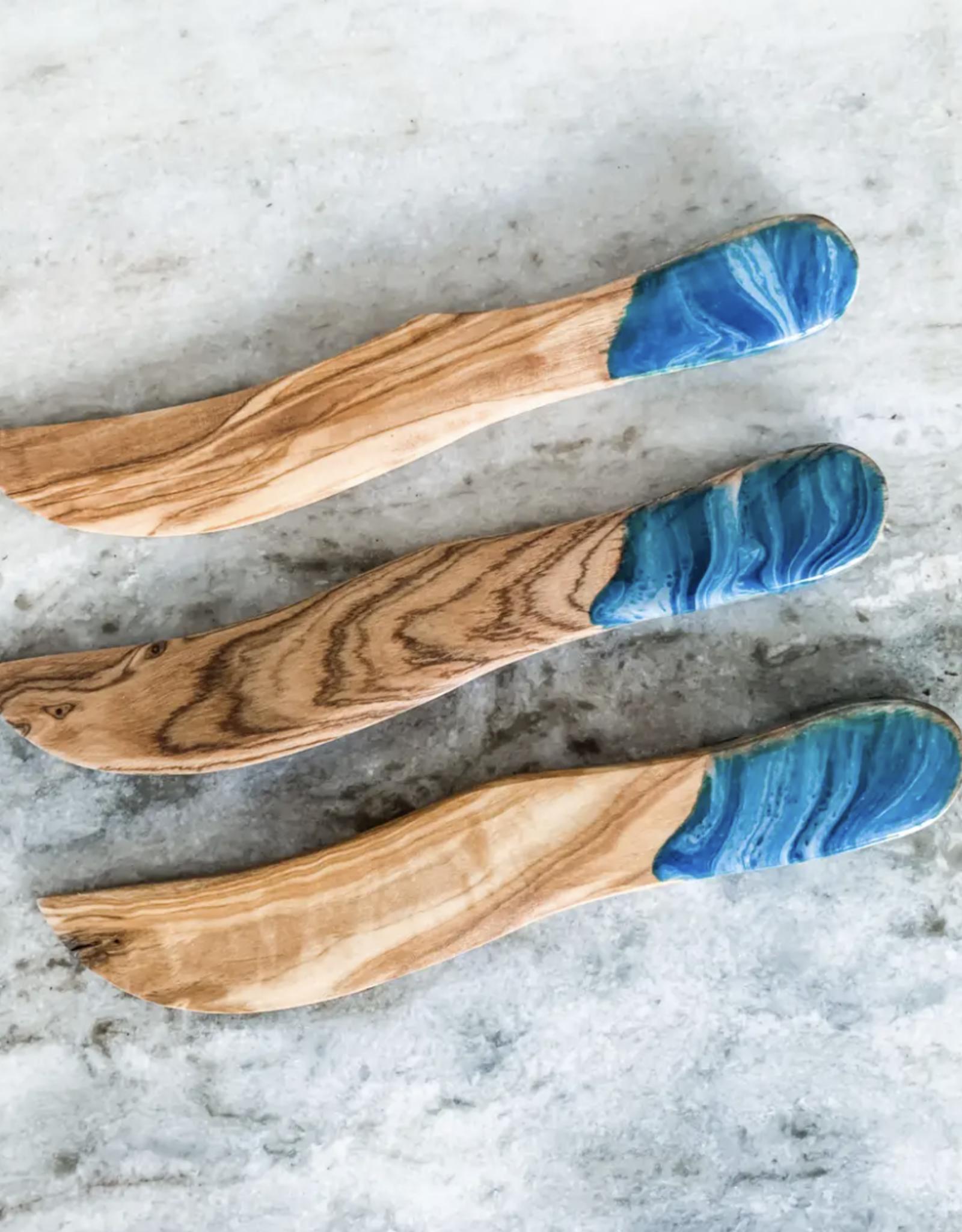 Nikita Fine Art Olive Wood Spreader