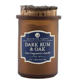Dark Rum and Oak Spirit Jars Candle