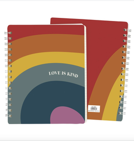 "Primitives by Kathy ""Love is Kind"" Notebook"