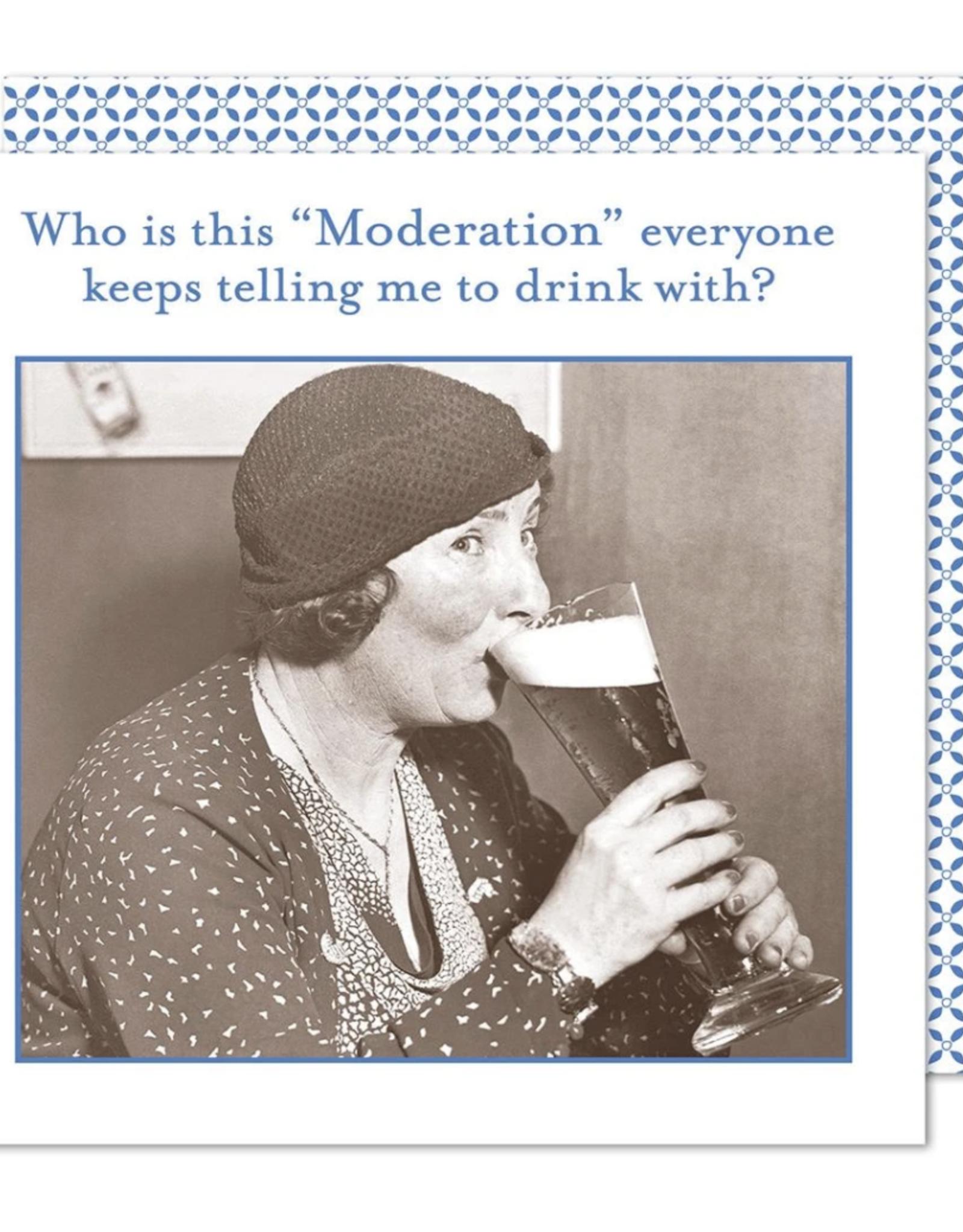 Moderation napkin