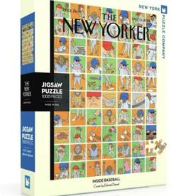 Inside Baseball 1000 piece puzzle
