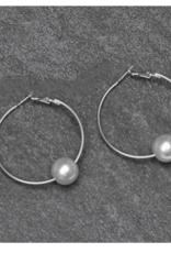 Michelle McDowell Silver yani earrings