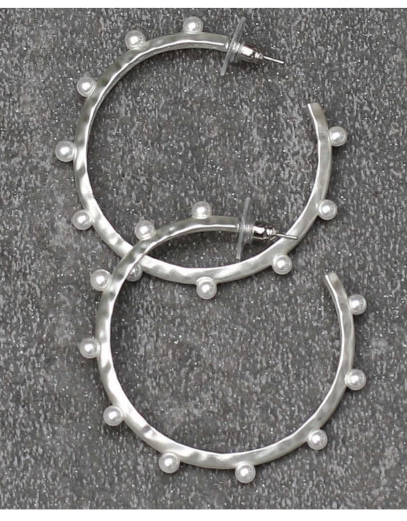 Michelle McDowell Silver Anya Earrings