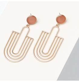 Michelle McDowell Coral Reign earrings